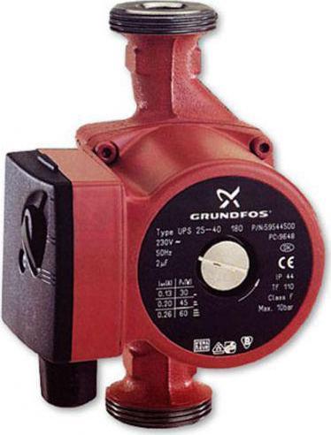 Grundfos ups 25 30 180 caratteristiche for Piani casa spec